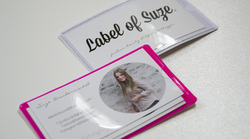 Visitekaartjes Label of Suze