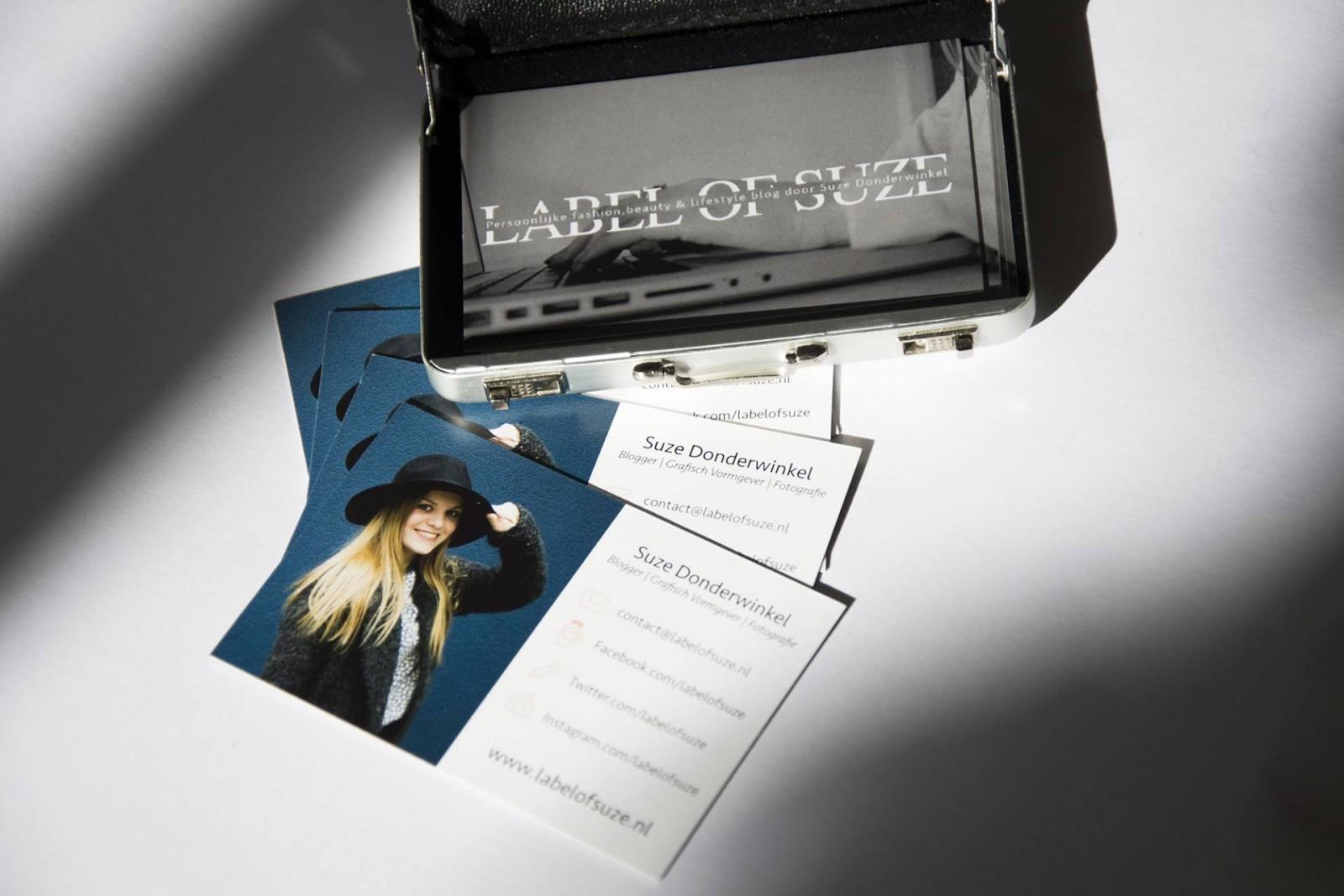 Nieuwe visitekaartjes voor Label of Suze | Label of Suze